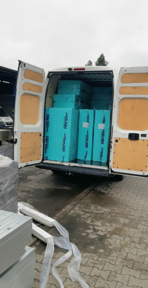 Prenájom dodávky v Prešove na prevoz polystyrénu.